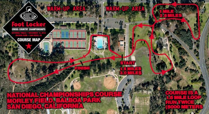 DyeStatFLcom News Course Map and Video Previews Balboa Park