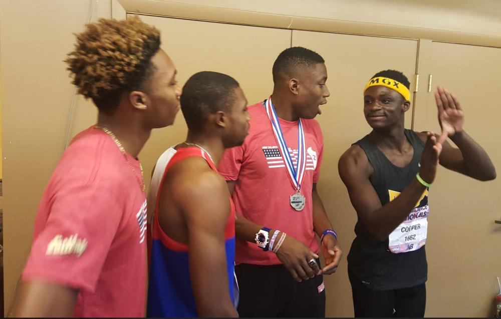 DyeStat com - News - UF signees Josephus and Noah Lyles